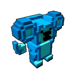 Blue Candy Bearbarian