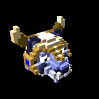 Blue Battle Tiger (Trove – PC/Mac)
