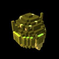 Golden Candorian Dragon Egg