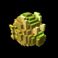 Golden Sandseasower Dragon Egg