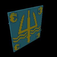 Golden Trident Sail (Trove – PC/Mac)