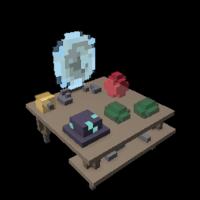 Portal Bench (Trove – PC/Mac)