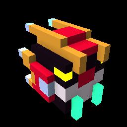 Golden Blocktron Dragon Egg