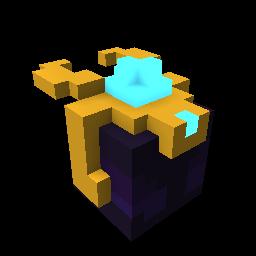 Golden Starfire Dragon Egg